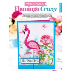 FREE Colourful Flamingo Greetings