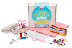 Florence the Flamingo Sewing Kit