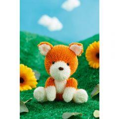 Fox Toy Knitting Pattern