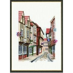 The Shambles Counted Cross Stitch Kit