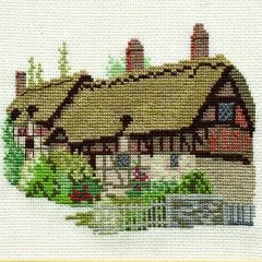 Anne Hathaway's Cottage Counted Cross Stitch Kit