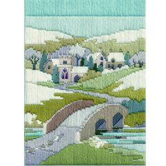 Winter Walk Long Stitch Picture Kit