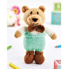 Arthur the Bear Downloadable Knitting Pattern
