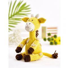 Geoff the Giraffe Downloadable Knitting Pattern