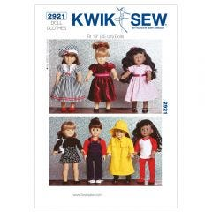 Dolls Clothes Sewing Pattern
