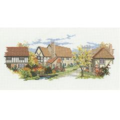 The Lanes - October Lane Counted Cross Stitch Kit