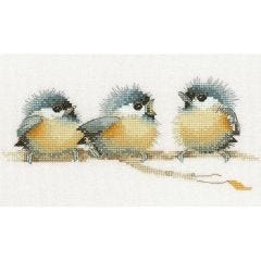 Valerie Pfeiffer: Sitting Pretty Counted Cross Stitch Kit