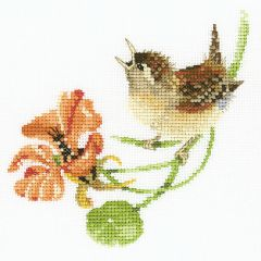 Valerie Pfeiffer: Simply Wren Counted Cross Stitch Kit