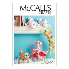 Stuffed Animal Collection Sewing Pattern