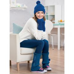 Matching Winter Warmers Set Knitting Pattern