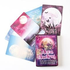 Moon Mantras Card Deck