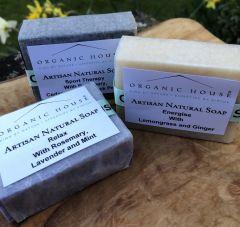 Natural Aromatherapy Soaps Trio