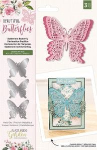 Natures Garden - Metal Die - Statement Butterfly