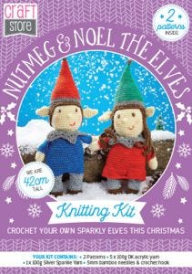 Nutmeg & Noel Physical Crochet Pattern