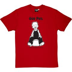 Oor Wullie Bucket Personalised T-shirt