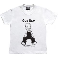 Oor Wullie on a Bucket Personalised Kids T-shirt