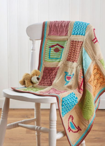 Little Birds Blanket Pattern Part 6