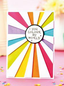 FREE Rainbow Card Project