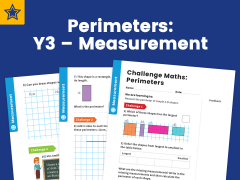 perimeters year three measurement maths challenge