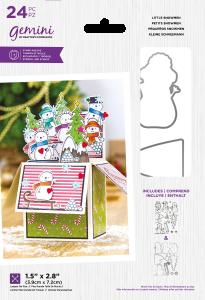 Gemini - Stamp & Die - Little Snowmen