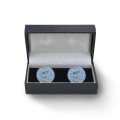 Royal Air Force Centenary Commemorative Blue Cufflinks