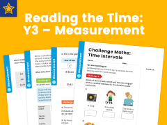 Intervals Of Time Year 3 Measurement Maths Challenge