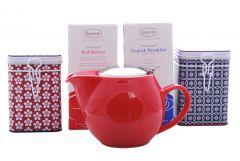Red Zaara Teabag and Tin Set