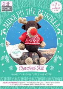 Rudolph The Reindeer Physical Crochet Pattern