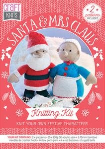 Santa & Mrs Claus Physical Knitting Pattern