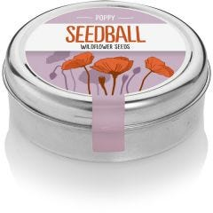 Poppy - Wildflower Tin
