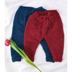 Simple Baby Trousers Knitting Pattern