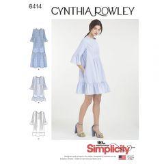 Simplicity 8414 Smock Dress Pattern
