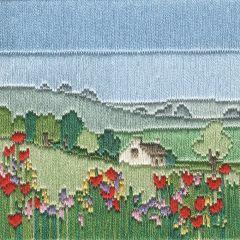 Silken Long Stitch: Meadow