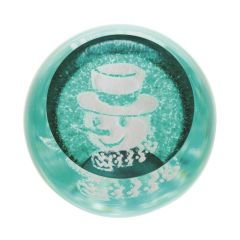 Snowman Turquoise Paperweight