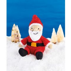 Sparkly Santa Downloadable Knitting Pattern