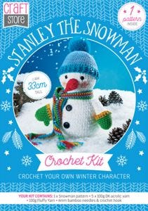Stanley The Snowman Physical Crochet Pattern