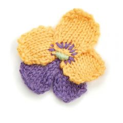 Stash Busting Blooms Knitting Pattern