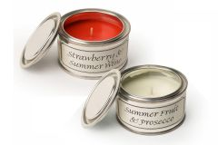 Filled Candle Tins - Summer Days - Pack of Two