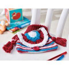 Summer Stripes Children Bag Knitting Pattern