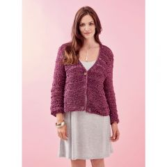 Women's Textured Cardigan Knitting Pattern