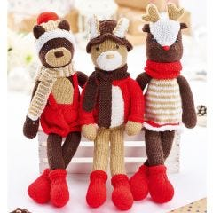 The Woodland Trio Knit Kit
