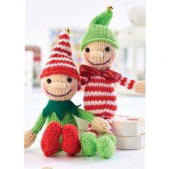 Jingle and Tinsel The Elves Knitting Pattern