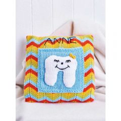 Tooth Fairy Cushion Knitting Pattern