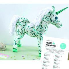 FREE Unicorn Toy Sewing Pattern