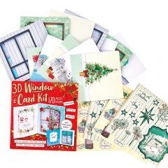 Bumper 3D Window Card Kit
