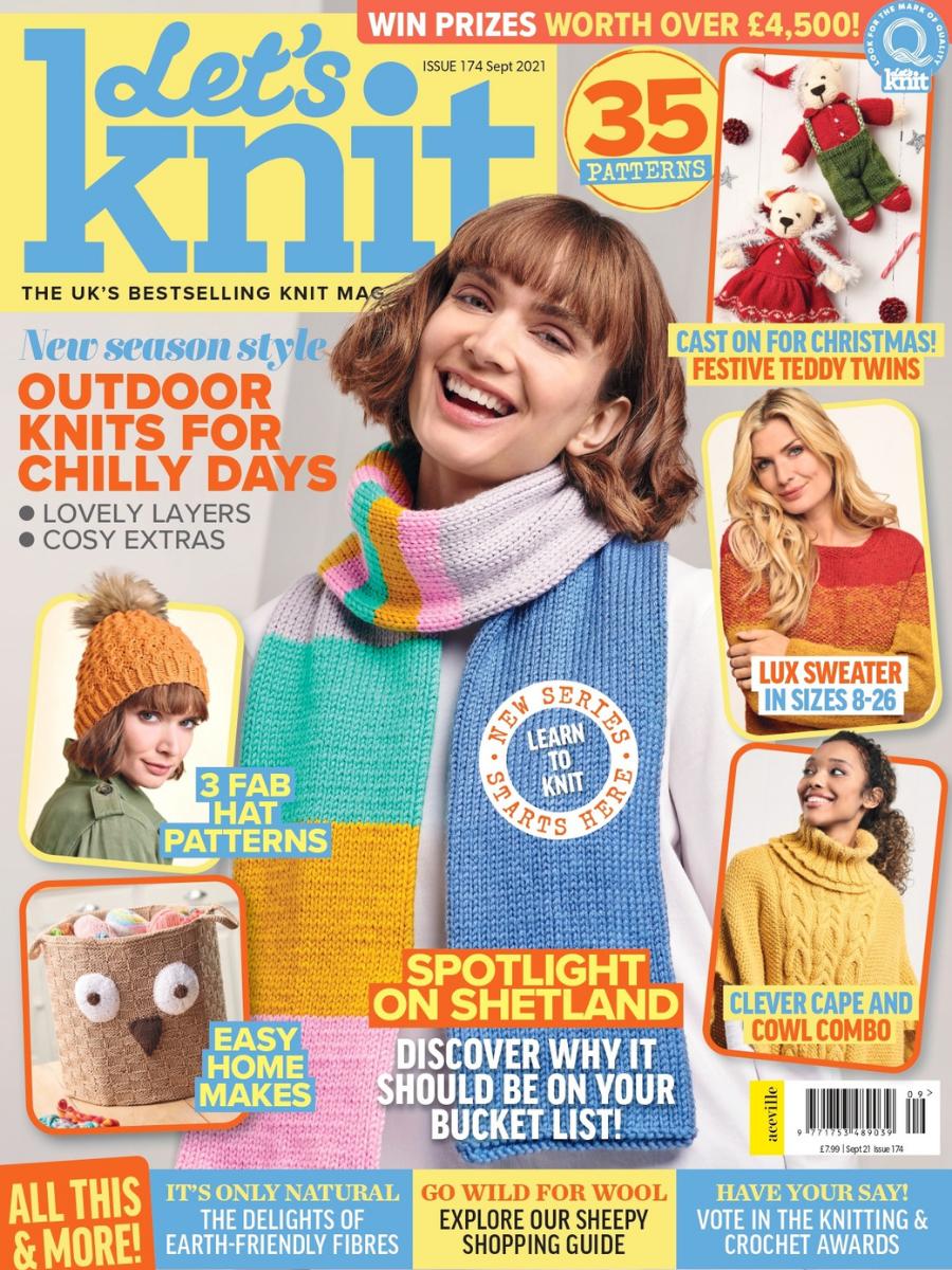 Let's Knit Magazine Sample